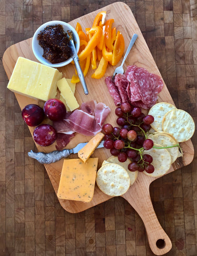 best charcuterie of natural hardwood