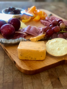 Reclaimed American Maple Custom Medium Charcuterie Board - Vintage Style Rectangle French Board