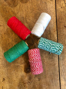 christmas bakers twine