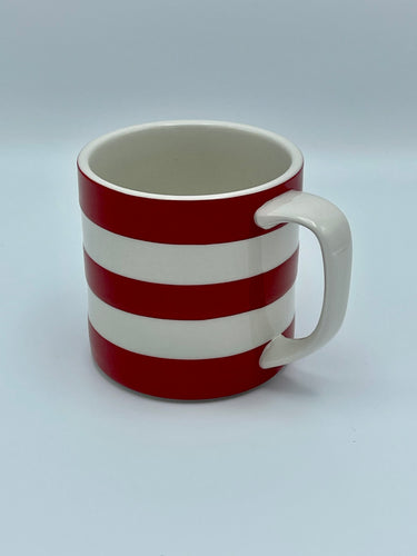 Cornishware Striped Mug (15oz) by T.G. Green