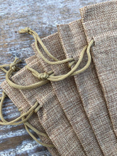 Load image into Gallery viewer, Burlap Bags and Sacks for Gifts and Favors