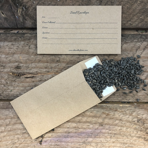 Storing seeds as a unique gift idea for a gardener