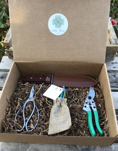 Set of Garden Tools in a Gift Box