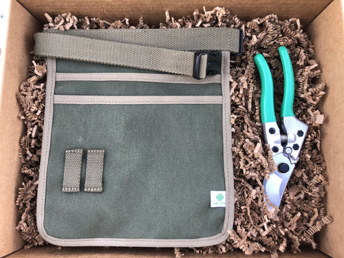 Garden Tool Belt and Pruner Set