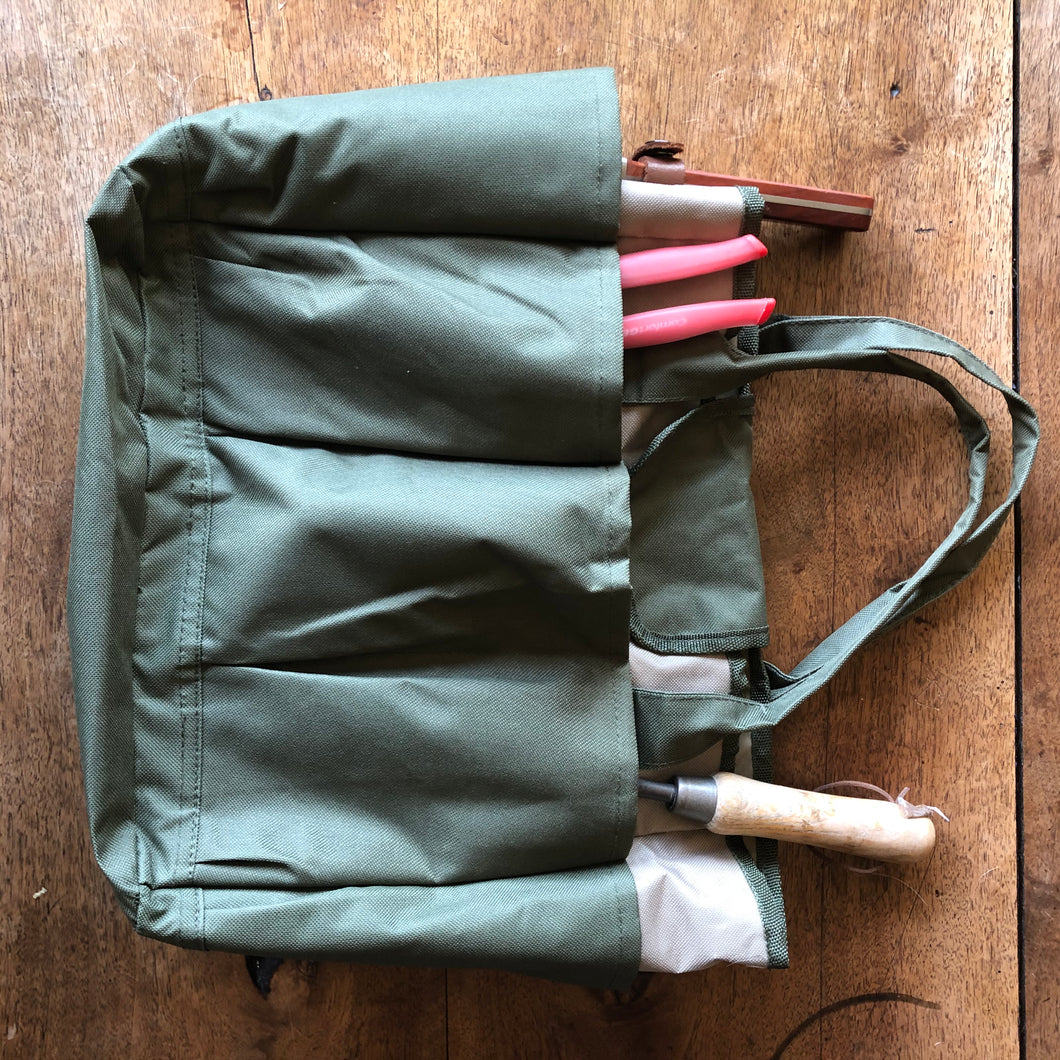 gardener's tote and storage