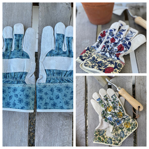 Leather Gardening Gloves for Ladies