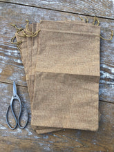 Load image into Gallery viewer, Large Burlap Sacks for Goods, Gifts and Storage