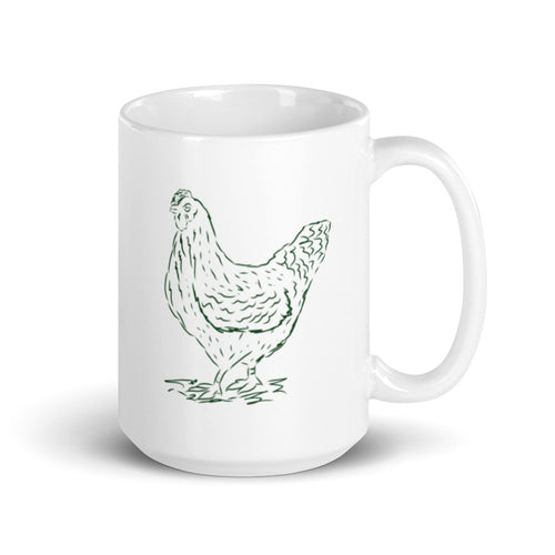 Hen Chicken Coffee Mug