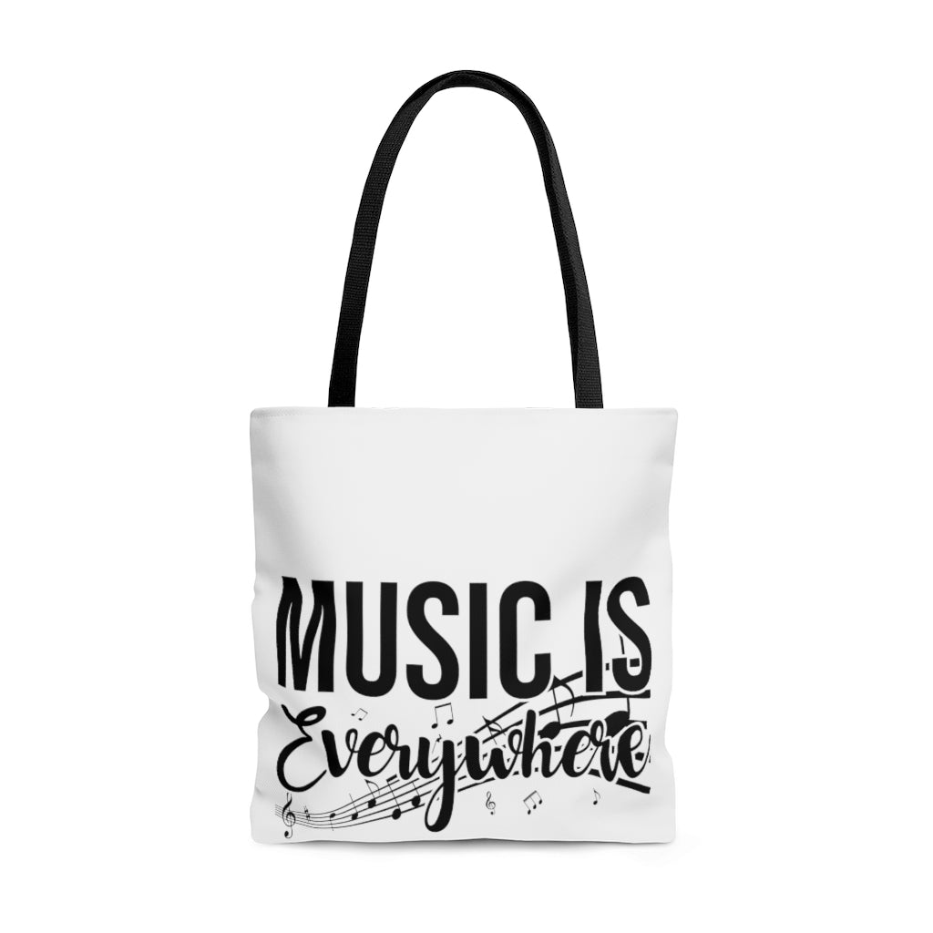Music Is Everywhere! AOP Tote Bag