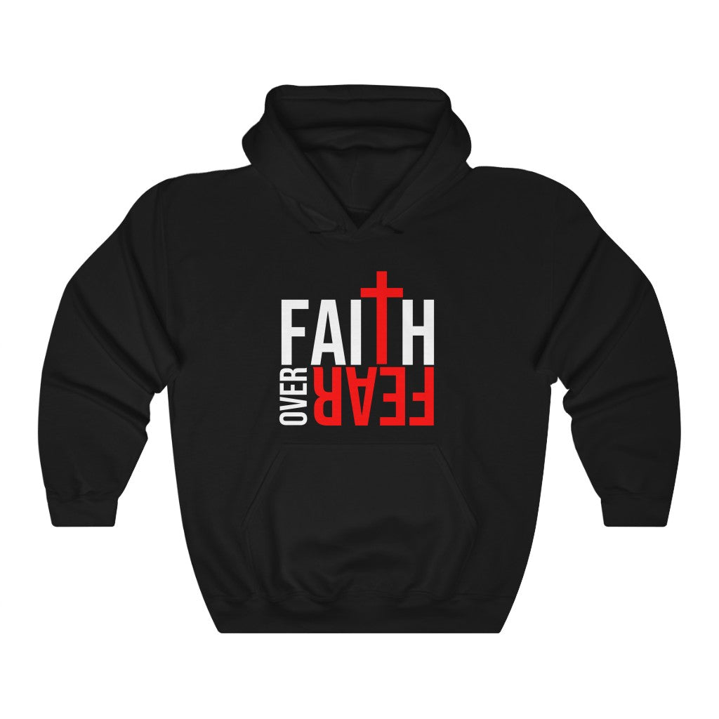 Faith Over Fear Unisex Heavy Blend™ Hooded Sweatshirt