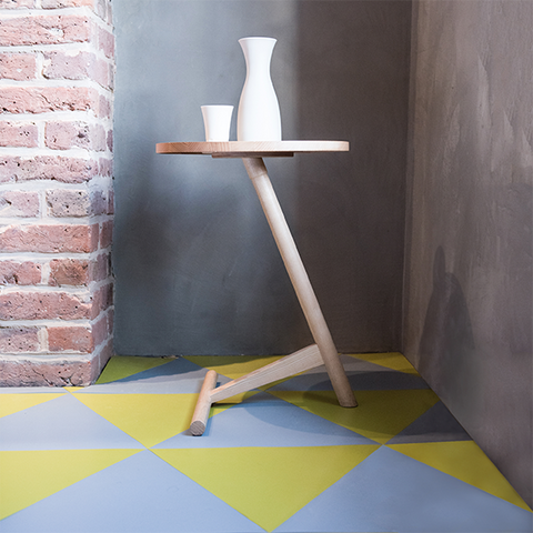 Abney Rubber Triangle Tiles