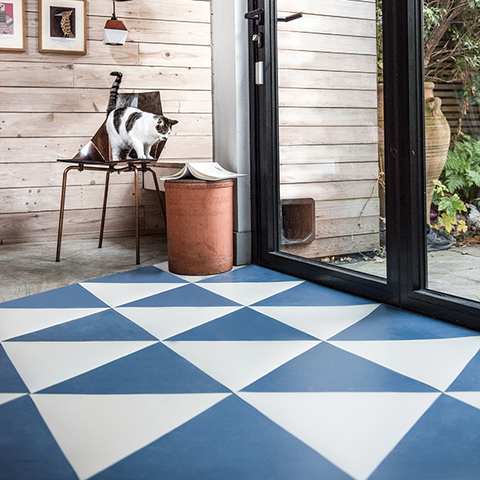 Comporta Rubber Triangle Tiles