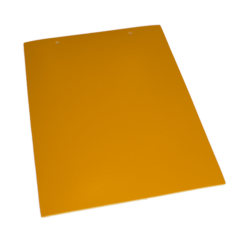 Pumpkin Orange Rubber Flooring (A4 sample)