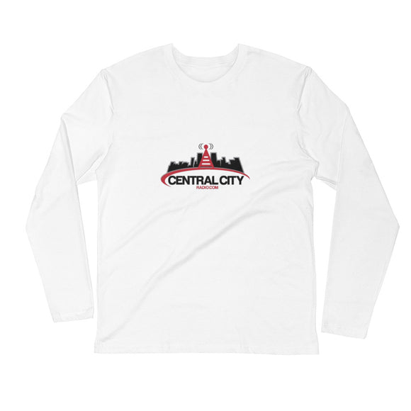 Central City Radio - Long Sleeve Fitted Crew