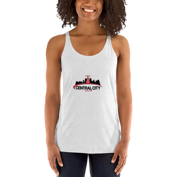 Central City Radio - Women's Racerback Tank