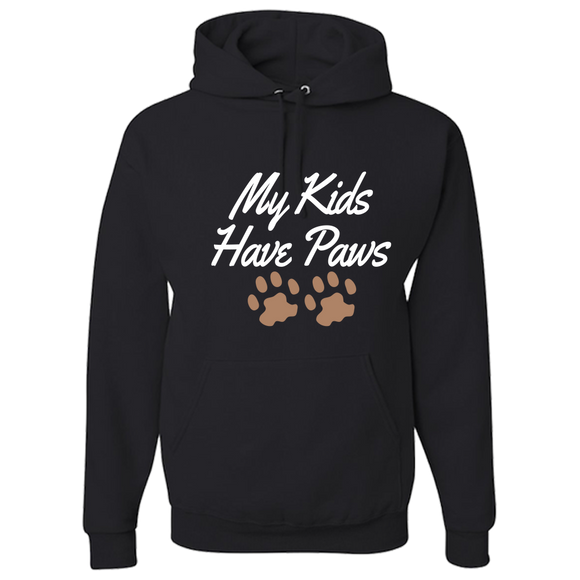 My Kids Have Paws - Adult Hoodie