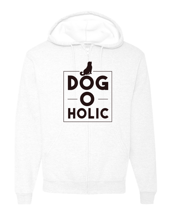 Dog O Holic - Adult Zipper Hoodie