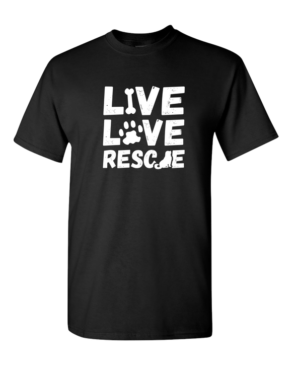 Live Love Rescue - T-Shirt