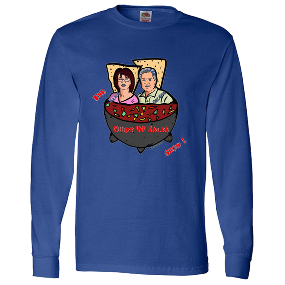Chip N Salsa - Adult Long Sleeve Tee