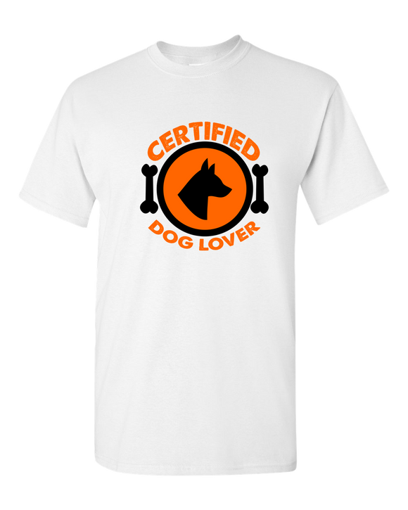 Certified Dog Lover - T-Shirt