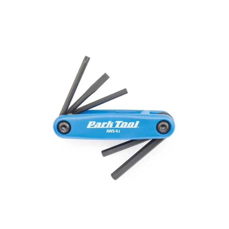 Park Tools AWS-9.2 - Fold-Up Hex Wrench and Screwdriver Set