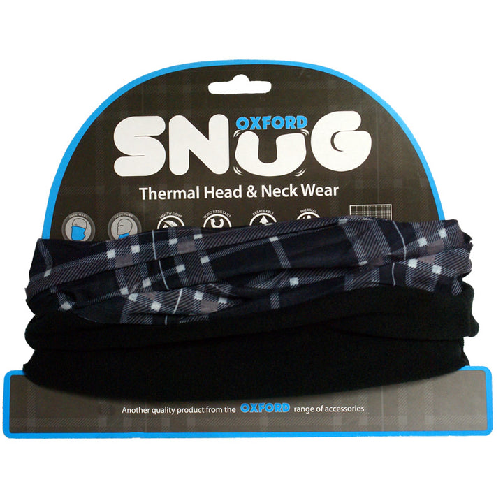 Oxford - Snug Thermal Head and Neck Wear. Tartan.