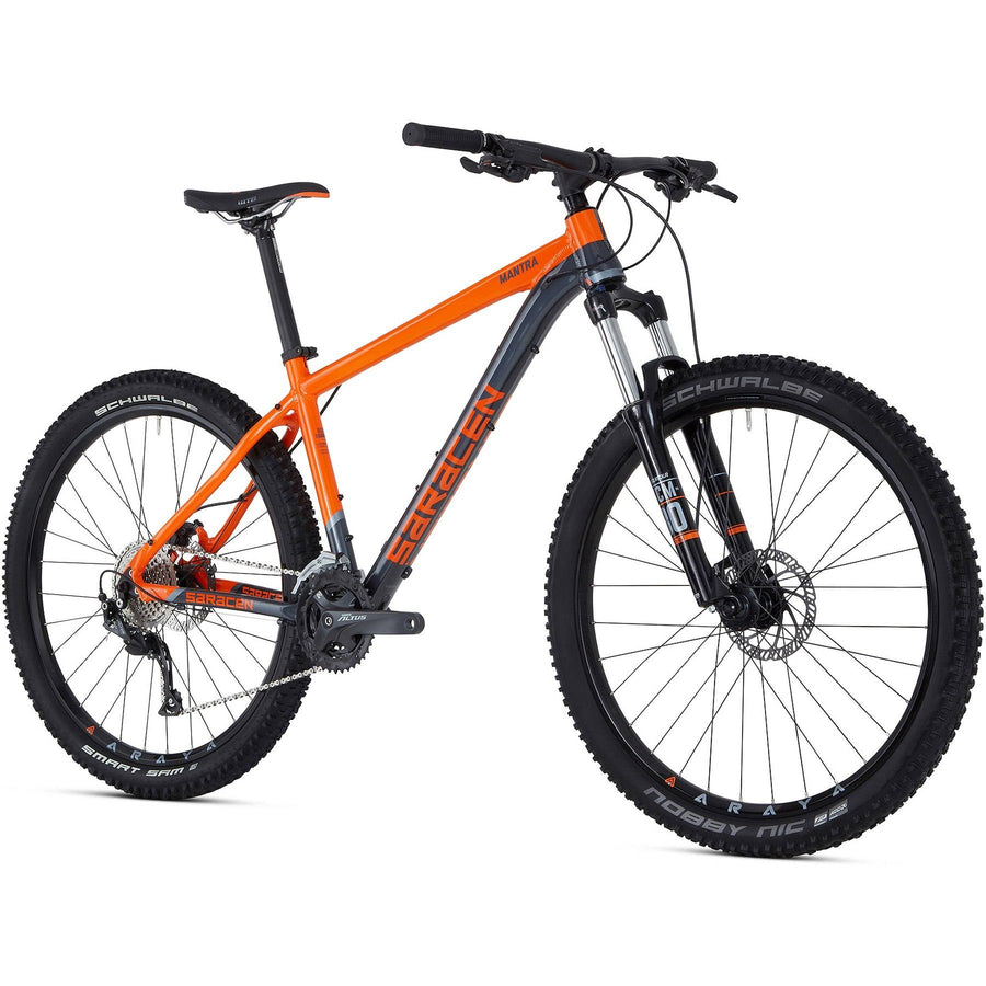 "Ex Hire - Saracen Mantra 27.5""/650b MTB - 19""/Large only"