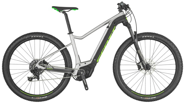 Ex Hire - Scott Aspect eRide 30 Electric MTB