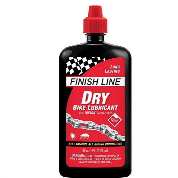 Finish Line - Cross Country Dry Chain Lube 8 oz / 240 ml