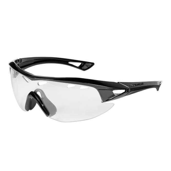Madison - Recon glasses - gloss black frame, clear lens