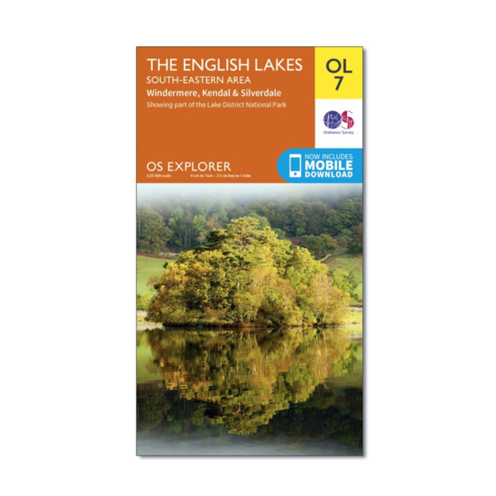 Ordnance Survey - OS Explorer OL7 The English Lakes South Eastern