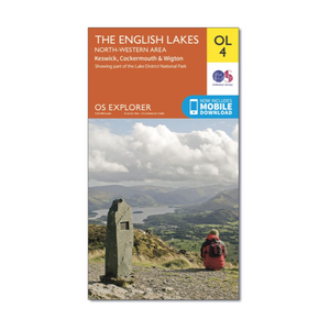 Ordnance Survey - OS Explorer OL4 The English Lakes North Western