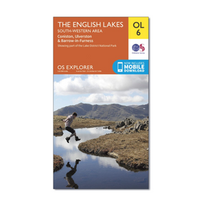 Ordnance Survey - OS Explorer OL6 The English Lakes South Western - Active