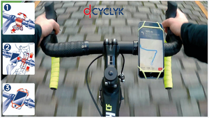 Cyclyk - Universal Silicone Mobile Phone Holder
