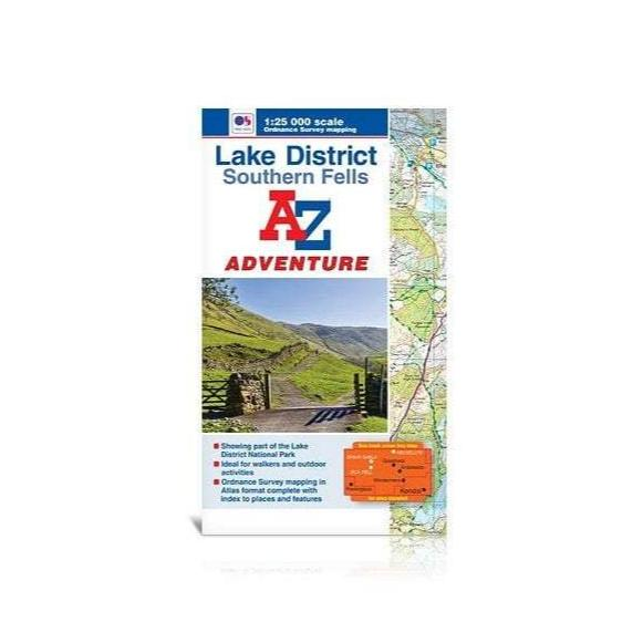 Ordnance Survey - Lake District A-Z Adventure Atlas - Southern Fells