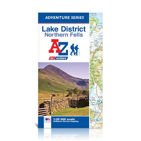 Ordnance Survey - Lake District A-Z Adventure Atlas - Northern Fells