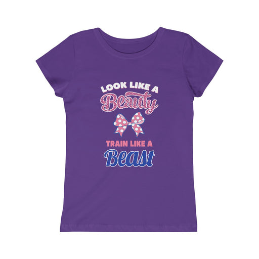 BEAUTY BEAST Girls Princess Tee