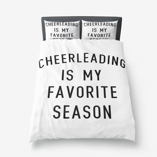 Favorite Season CHEER Microfiber Duvet Cover
