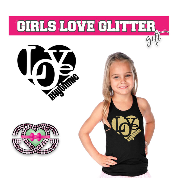 Rhythmic Gymnastics Tank Love Heart