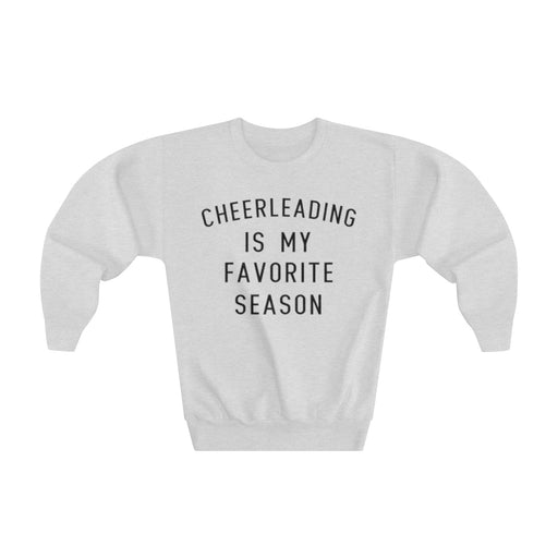 Favorite Season CHEER Youth Crewneck Sweatshirt