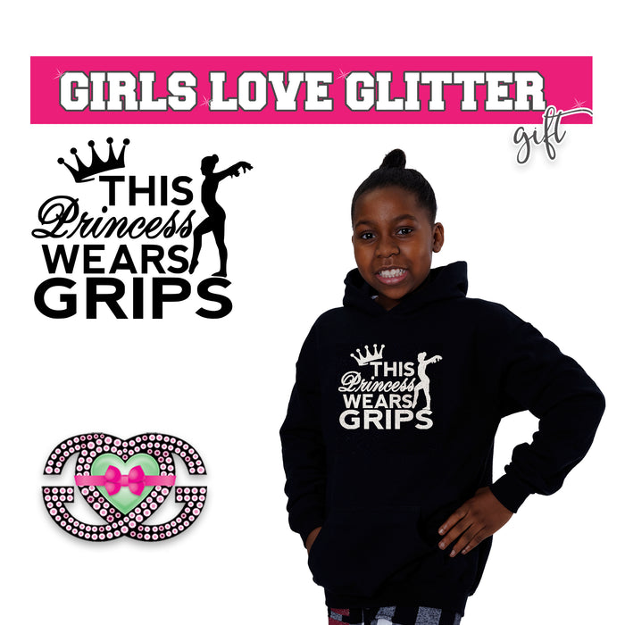Gymnastics Hooded Fleece This Princess Grips Gymnast