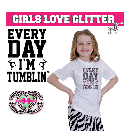 Gymnastics Tee Every Day I'm Tumblin'