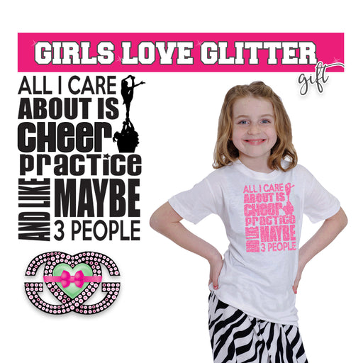 Cheer Tee All I Care About