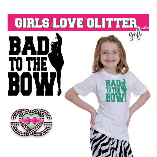 Cheer Tee Bad to The Bow