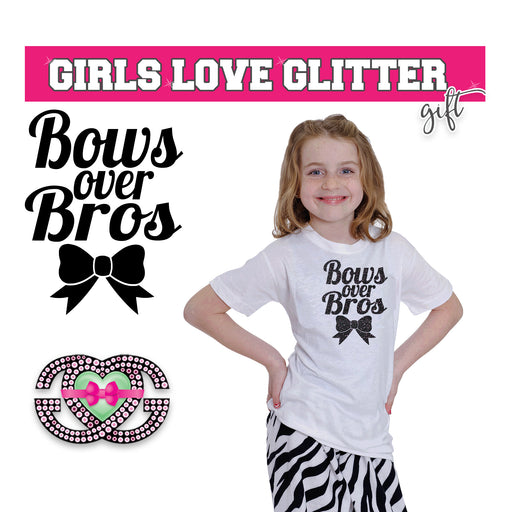 Cheer Tee Bows over Bros