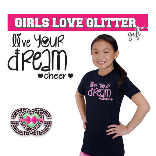 Cheer Tee Live Your Dream Cheer