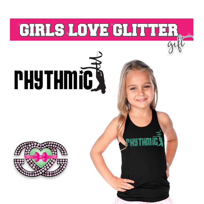 Rhythmic Gymnastics Tank with Ribbon