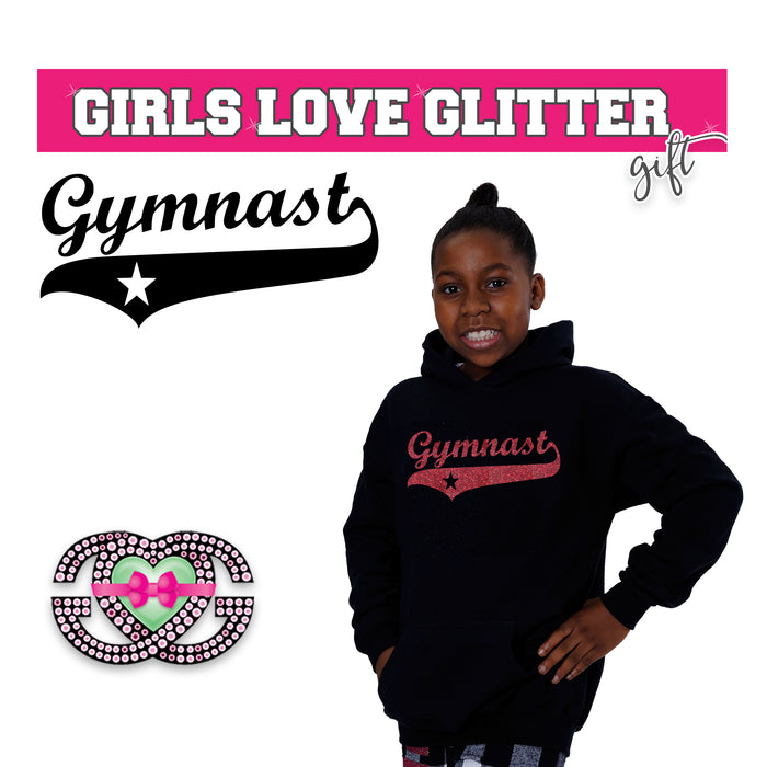 Gymnastics Hooded Fleece Gymnastics Team Star