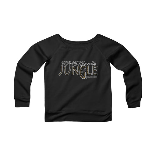 SOMERSAULT JUNGLE GYMNASTICS Women's Sponge Fleece Wide Neck Sweatshirt