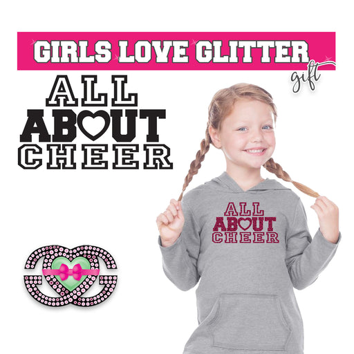 Copy of Cheer Hooded Fleece All About Cheer